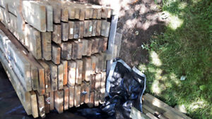 Various  16ft stamped  lumber