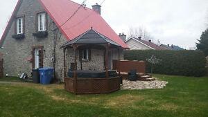 tres belle maison avec spa au lac st Charles