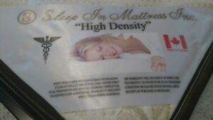 Healthy, firm mattresses(high density)2Queen1Twin for $330
