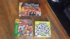 2 board games and 1 puzzle