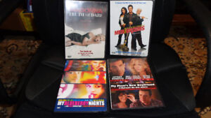 MIXED LOT COLLECTION OF 12 PREVIOUSLY VIEWED DVD MOVIES MADONNA