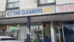 NORTH YORK DRY CLEANING/ ALTERATION DEPOT FOR SALE $40,000