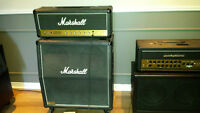Marshall jcm 800 100 watts 1983 à vendre (tête et cabinet)