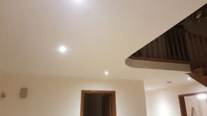 POPCORN CEILING REMOVAL, PAINT , SERVING THE GTA