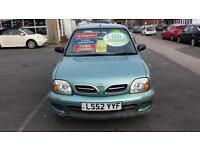 2002 NISSAN MICRA 1.0 S Automatic 3 Door From GBP1,995 + Retail Package