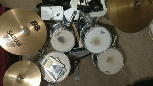 (Limited time price drop) Pearl Export Series, Sabian B8 cymbals