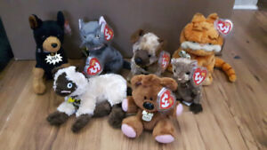 Ty Beanie Babies Garfield Collection