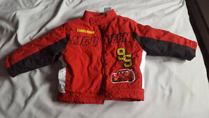 Cars Jacket plus a few other items