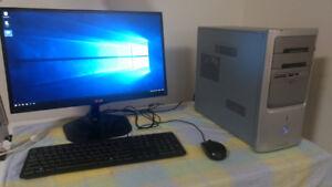 HP PC, AMD 2.0GHz,  4G RAM, Windows 10 Home