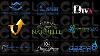 LOGOS , GRAPHIC DESIGN ***SPECIAL PRICE 175$***
