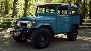 Wanted: Toyota Land Cruiser 40 series