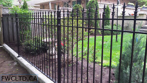 Wrought Iron Metal Solid Fence Panels, Railings, Gates London Ontario image 2
