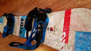 Board and bindings for sale