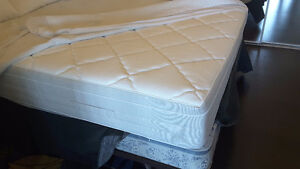 IKEA Sultan HANSBO Double/Full mattress,box spring,bed frame &mo