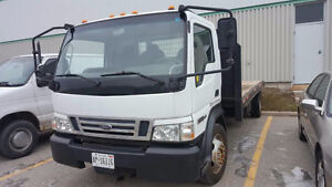 2007 Ford LCF Flatbed Truck - Great Condition & New Price