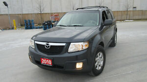 2010 Mazda Tribute,  4WD, Automatic, 3 Years warranty available.