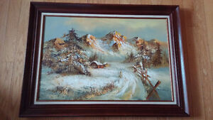 For sale Herb Parnall oil painting