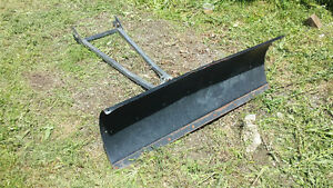 Arctic cat ATV plow