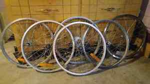 BMX Wheels tires and tubes