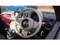 2016 Fiat 500 1.2 Lounge 3dr Manual Petrol Hatchback