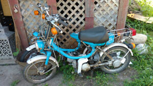 2 Yamaha 1980 scooters moped dirt bike $450