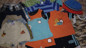 12 month baby boy summer lot