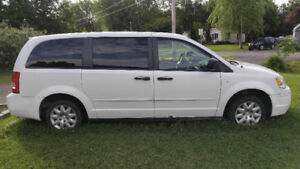 van chrysler town and country stow and go