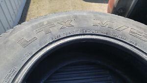 265/70 R17 Michelin Tires, Chevy Silverado