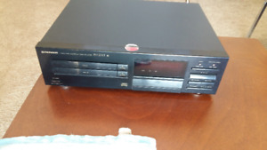 2 disc audio CD player