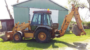 Case 580SL Series 2 Backhoe