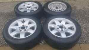 BMW 328 wheels 3 pcs with tires