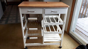 CHEESE AND WINE RACK CART SERVER, FOOD SERVER CART, (or  ?? Cart