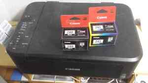 Cannon ink jet printer and scanner