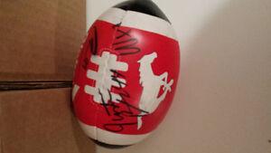 Calgary stampede signed mini ball