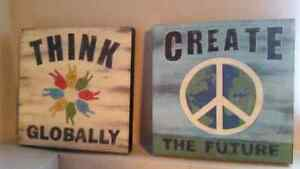 12 x 12 canvas paintings