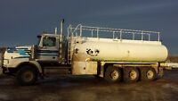 EXP WATER TRUCK DRIVER AND MORE, LOOKING FOR WORK