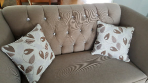 BRAND NEW SOFA AND  LOVESEAT ..2 PIECES