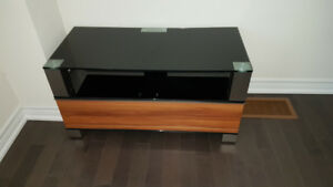 TV Bench Table Glass