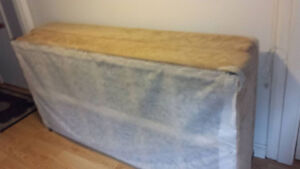 Twin size box spring foundation