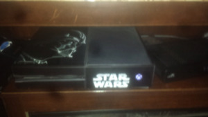 Xbox one 500gb w/kinect, games and accessories
