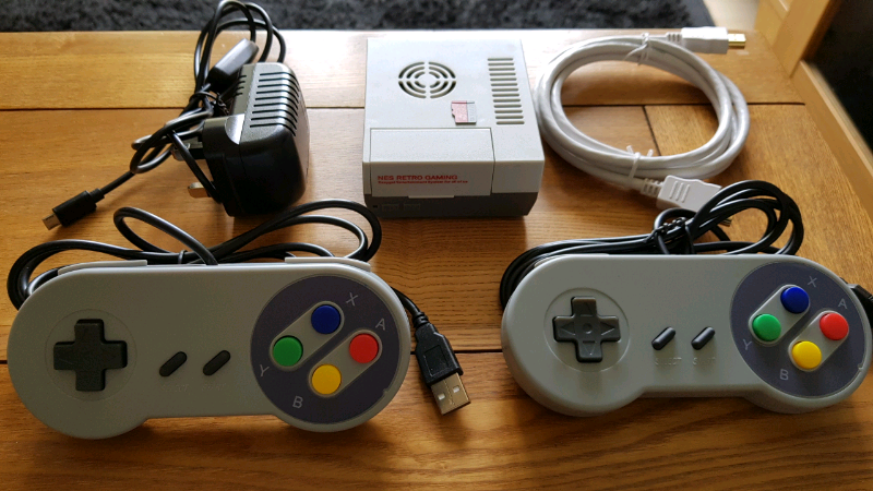 Raspberry pi Retropie console with 2 controllers | in Royton, Manchester |  Gumtree
