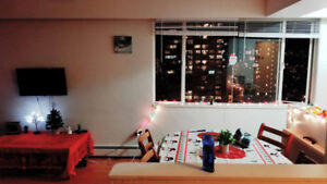 APARMENT IN DOWNTOWN, FOR RENT, ONE BEDROOM!! FULL FURNISHED!!