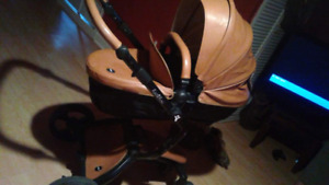 Brown stoller good condition