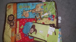 literie bébé aninaux pour bassinette