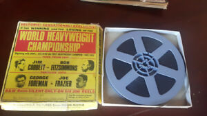 Vintage 8mm Reel of Championship Boxing