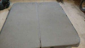 Hot tub cover grey  fits 74 ×78