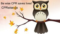 BLS, CPR, AED Heart & Stroke Course Thurs May 25th & more