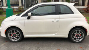 2012 FIAT 500 SPORTS MODEL LOW KMS ONLY $6000