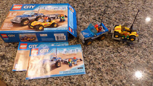 LEGO DUNE BUGGY TRAILER WITH BOX AND BOOKLET, LIKE NEW