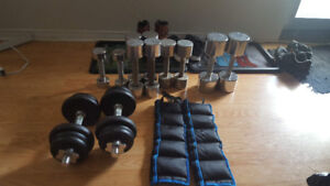 Workout Weights for Sale (Dumbells)